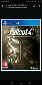 Fall out 4 ps4