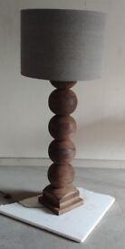 Mr. Big Balls! solid hardwood floor lamp