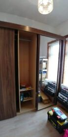 Large Mirrored Wardrobe for sale