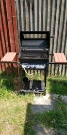 Gas bbq two burner fully working