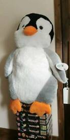 Giant Penguin Soft Toy