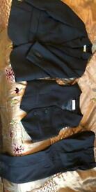 3 piece black boys suit fromH&M