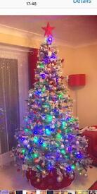 7ft SnowStorm Christmas Tree