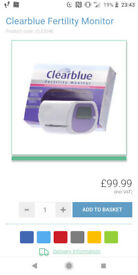 Clearblue Fertility Monitor band new