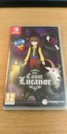 The Count Lucanor for Nintendo Switch .