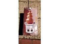 Stainless steel small chocolate fountain used