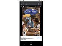 Ratatouille PSP Game