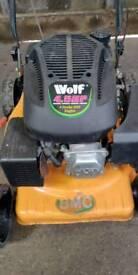 Wolf lawn mower
