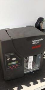 Monarch 9800 Paxar Barcode Label Printer  M09850 PARALEL SERIAL  ETHERNET