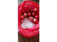 Christmas tree + decoration