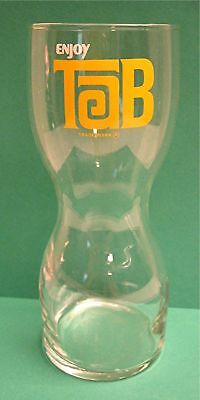 Old Tab Intro Hourglass Shaped Soda Glass Coke Product