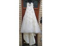 Un-used Wedding Dress - Benjamin Roberts Ltd, Blue by Enzoani