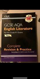 NEW GCSE English literature book