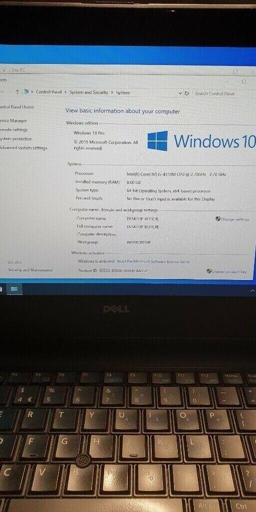 SALE! Dell laptop E6440, 14 inch 1080p screen, i5, 8gb ram, 128gb SSD +  500gb SSHD & office 2016! | in Manor Park, London | Gumtree