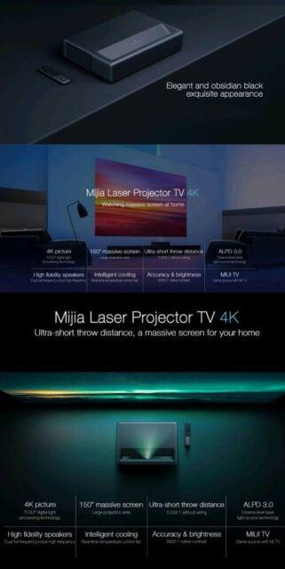 4K WEMAX Xiaomi Mijia MJJGTYDS01FM Laser TV | in Bromley, London | Gumtree