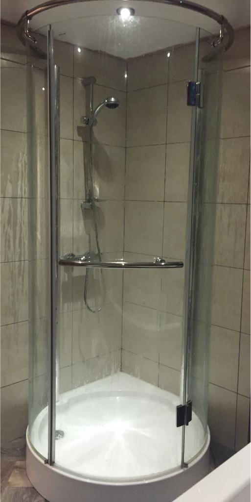 Circular shower enclosure with tray | in Mynachdy, Cardiff | Gumtree