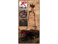 "XP Deus Lite v3.2 Metal Detector 9"" Coil and WS4 Headphones"
