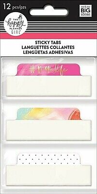The Happy Planner - Super Mom Sticky Tabs - 12pcs