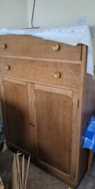 solid wooden sideboard cupboard