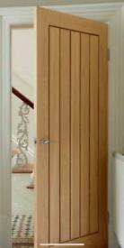 Howdens Dordogne Oak Internal Firedoor