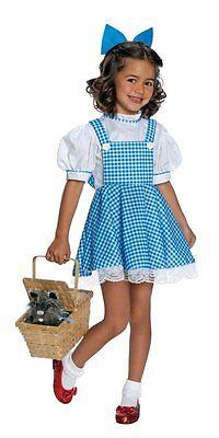 Girls Child DORTHY Deluxe Wizard of Oz Licensed - Childrens Wizard Costumes