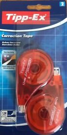 Tipp-Ex Correction Roller 12M Tape Tippex Mouse (2 Pack)