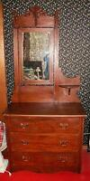 Antique Dresser with Candle Shelf--New Price!
