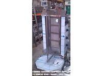 LPG GAS CANMAC DONER KEBAB MACHINE TOP MOTOR 4BURNER