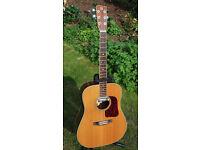 Vintage Aria GR-30 acoustic dreadnought guitar
