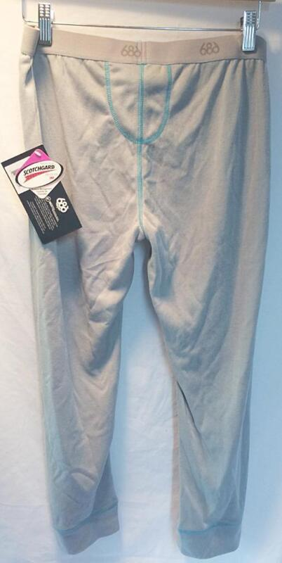 686 Women's Midmesh Therma Base Layer Bottoms Grey Size Large NEW