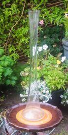 Glass Flute Vases