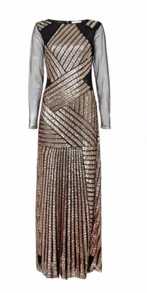 New designer sequence dress with tags