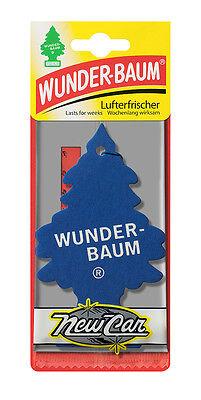 3 x Original WUNDERBAUM® New Car Lufterfrischer Duftbäumchen air freshener