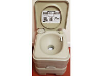 Portable Camp/Travel Toilet 20 Litre - As New