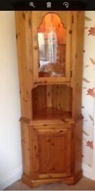 Ducal Antique Pine Solid Wood Corner Unit