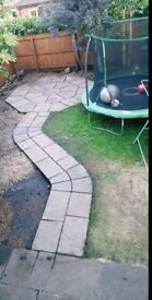 Garden flags. Feature path and Octagen set