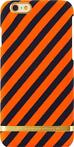 Richmond & Finch Satin Stripes Apple iPhone 6/6s Oranje