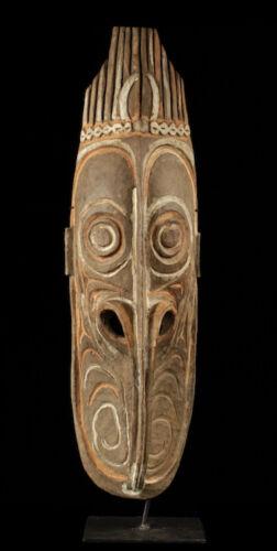 ancestor mask, sepik carving, papua new guinea