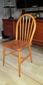 Vintage Ercol Windsor Hoop/Stick Back Dining Chair.