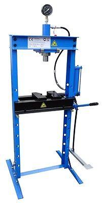 Werkstattpresse Hydraulikpresse Presse 12t mit Manometer und Fußpumpe