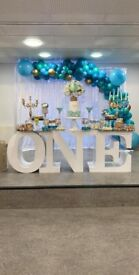 Party decorator/ balloon arch/ Event planner/ flower walls