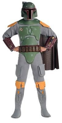 Erwachsene Deluxe Boba Fett Kostüm Star Wars Offiziell Lizenziert