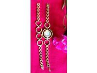 Indian Golden Classic Bracelet/Watch(new)