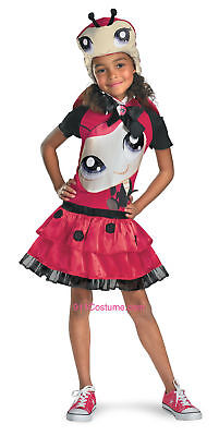 Littlest Pet Shop Costume Kids Lady Bug Costume Child Lady Bug Dress 16871