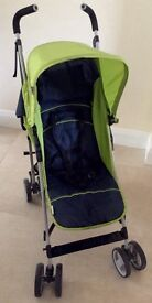 Hauck Roma stroller in moonlight/kiwi