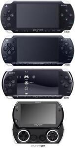 Console PSP, PS Vita en excellente condition, garantie 30 jours