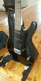 Ibanez GSA60 Gio Series Guitar + stand + bag