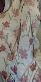 Pair of very large and heavy curtains. Beautiful quality. Fully lined