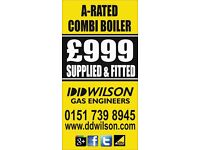Dd Wilson gas engineers Liverpool safe fitters corgi heating plumbing boiler repair quotes services