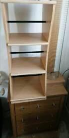 Pine CD/DVD Storage unit, stand, rack